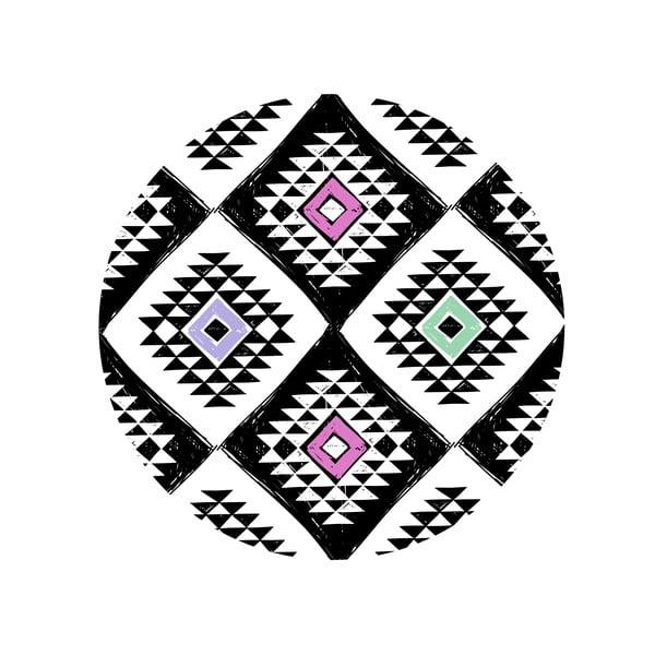 Sada 2 odkladacích stolíkov Aztec Diamond, 35 cm + 49 cm