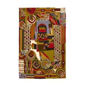 Koberec Hundertwasser, 180x120 cm