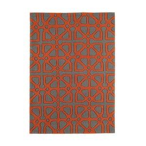 Koberec Harlequin Symbols Orange, 120x170 cm