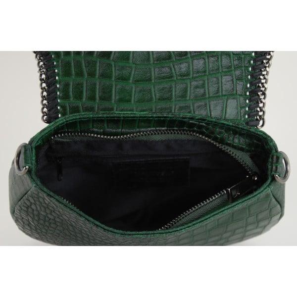 Kožená kabelka Valentina Verde