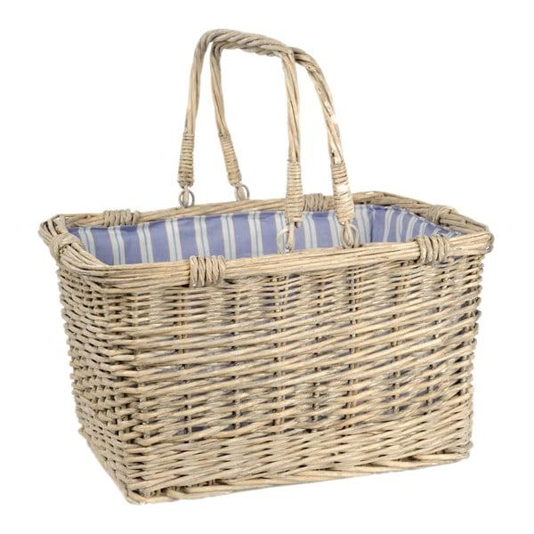 Košík s držadlami Willow, 43x33x24 cm
