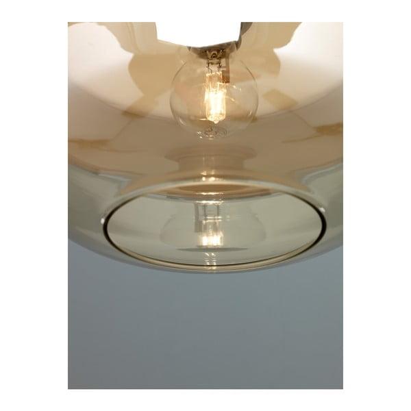 Biele závesné svietidlo Design Twist Caracol Round