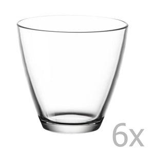 Sada 6 pohárov na vodu Bitz Fluidum, 260 ml