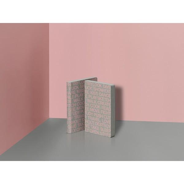 Zápisník Nuuna 100 Pink Ideas, malý