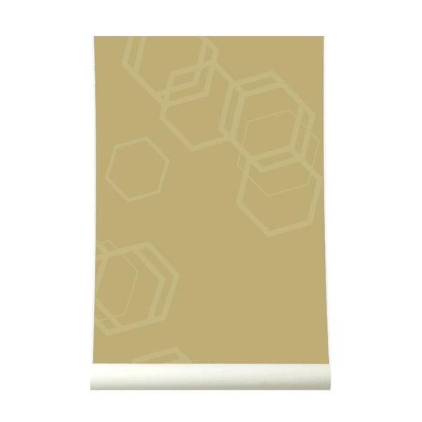 Tapeta Hexa Gold