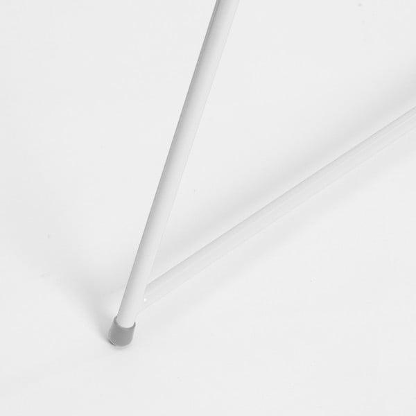 Biela noha ku stolu Master & Master Diamond Narrow, 70x55cm