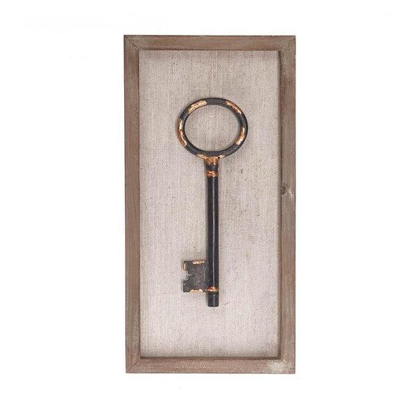 Nástenná dekorácia Key II, 20x40 cm