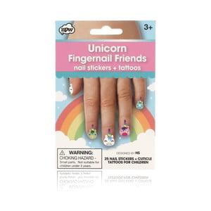 Sada nálepiek na nechty npw™ Unicorn