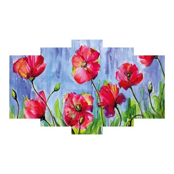 5-dielny obraz Poppies