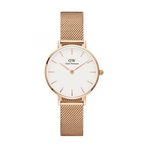Dámske hodinky v ružovozlatej farbe Daniel Wellington Petite Mel, ⌀28 mm