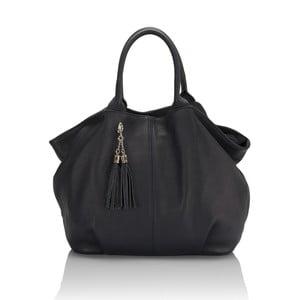 Kožená kabelka Markese 5021 Blue