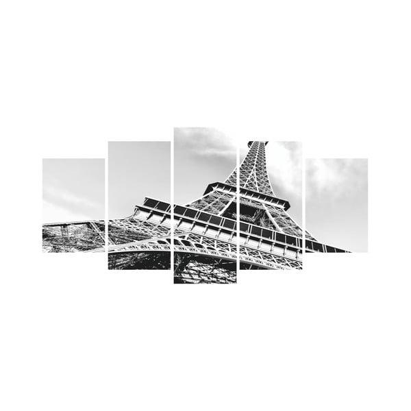 Viacdielny obraz Black&White no. 53, 100x50 cm