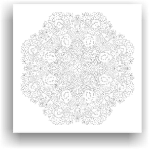 Obraz na vymaľovanie Color It no. 100, 50x50 cm