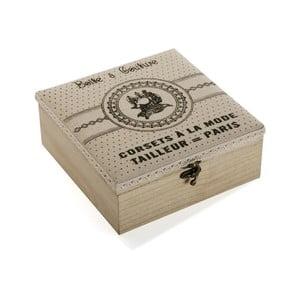 Drevený box na šijacie potreby Versa Paris