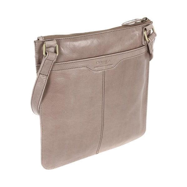 Dámska kožená taška Lilia Zinc