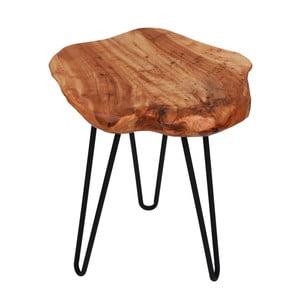 Odkladací stolík s doskou z cédrového dreva 360 Living Montanio 322