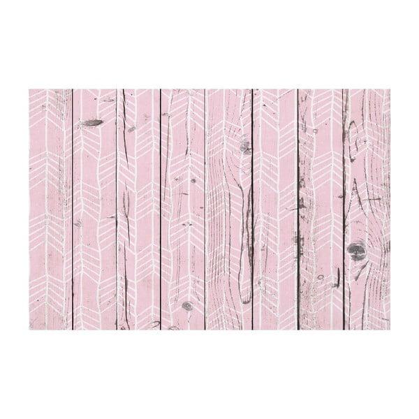 Vinylový koberec Tribal Rosa, 65x100 cm