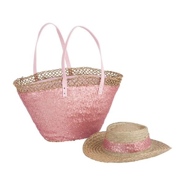 Plážová taška a klobúk Spangle