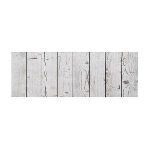 Koberec z vinylu Cocina Tablas Blanco Gris, 66x180 cm
