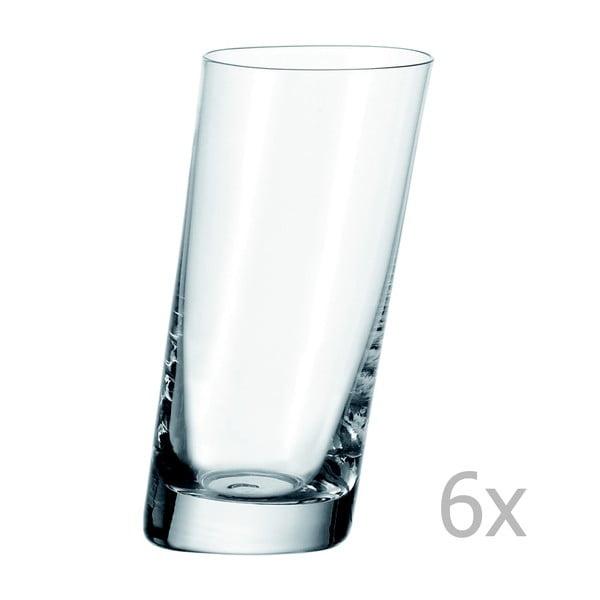Sada 6 pohárov na long drink LEONARDO Pisa, 370 ml
