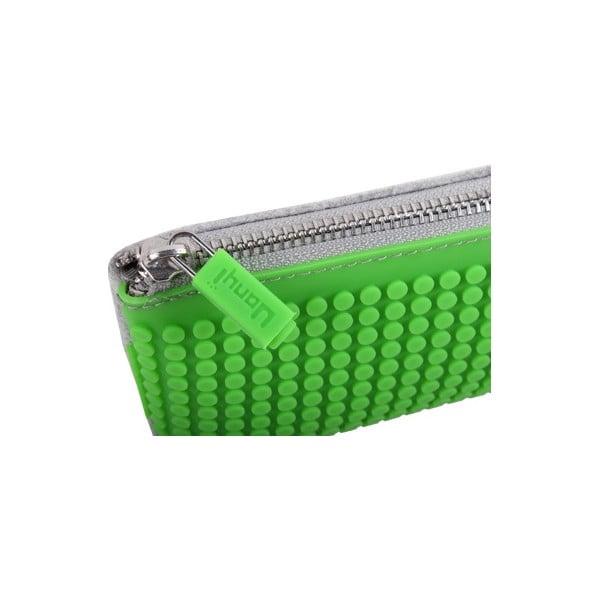 Pixelový perečník, grey/green