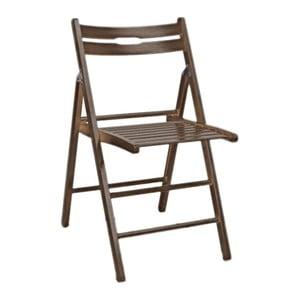 Skladacia stolička Smart, orech