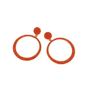 Oranžové náušnice Ottaviani Silvia