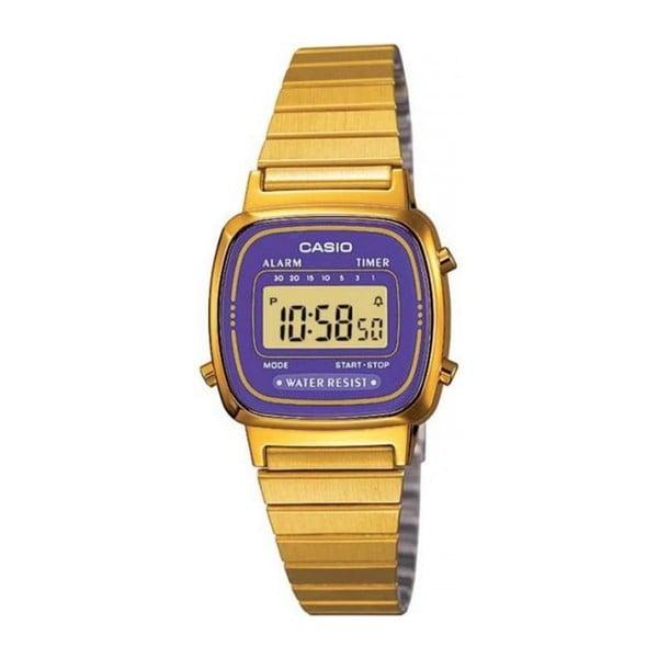 Unisex hodinky Casio Gold/Purple