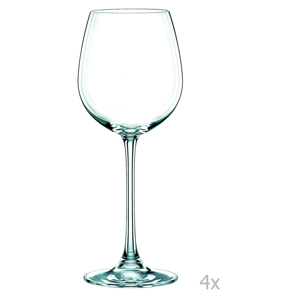 Sada 4 pohárov na biele víno z krištáľového skla Nachtmann Vivendi Premium White Wine Set, 474 ml