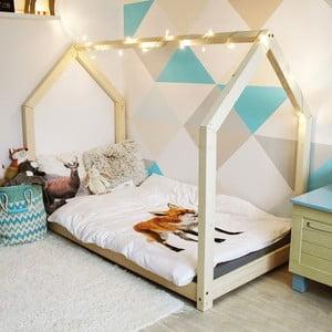 Detská posteľ z borovicového dreva Benlemi Tery, 80 x 200 cm