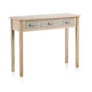 Konzolový stolík s 3 zásuvkami Geese Industry
