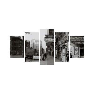 Viacdielny obraz Black&White no. 86, 100x50 cm