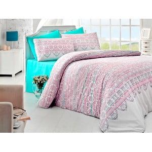 Sada obliečok a plachty Pink Dreams, 200x220 cm
