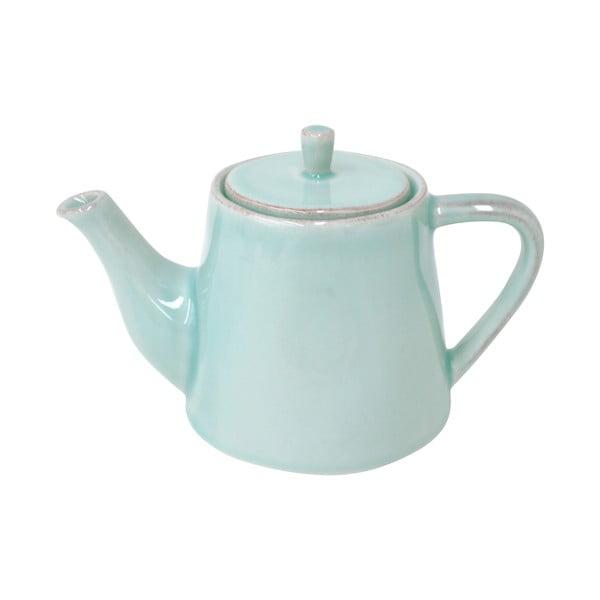Keramická kanvica na čaj Lisa 500 ml, tyrkysová