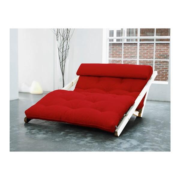 Leňoška Karup Figo, Raw/Red, 120 cm