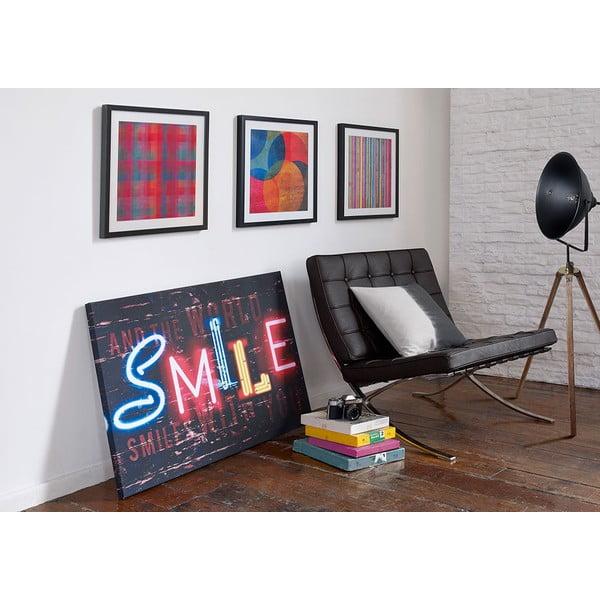 Obraz Graham&Brown Neon Stripe, 50×50cm