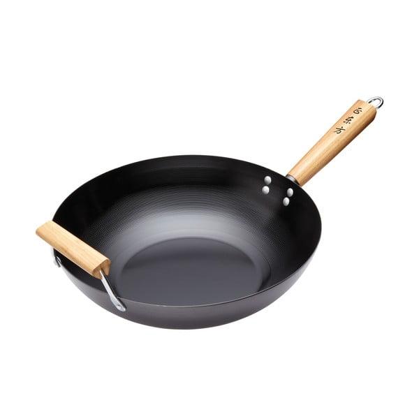 Nepriľnavá WOK Panvica Kitchen Craft Oriental, 35 cm