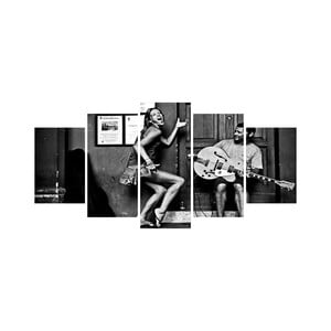 Viacdielny obraz Black&White no. 12, 100x50 cm