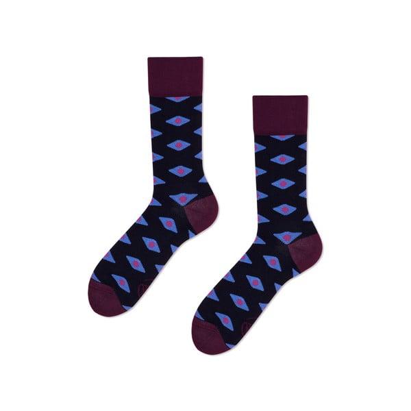Ponožky Many Mornings Plum Diamonds, veľ.39/42