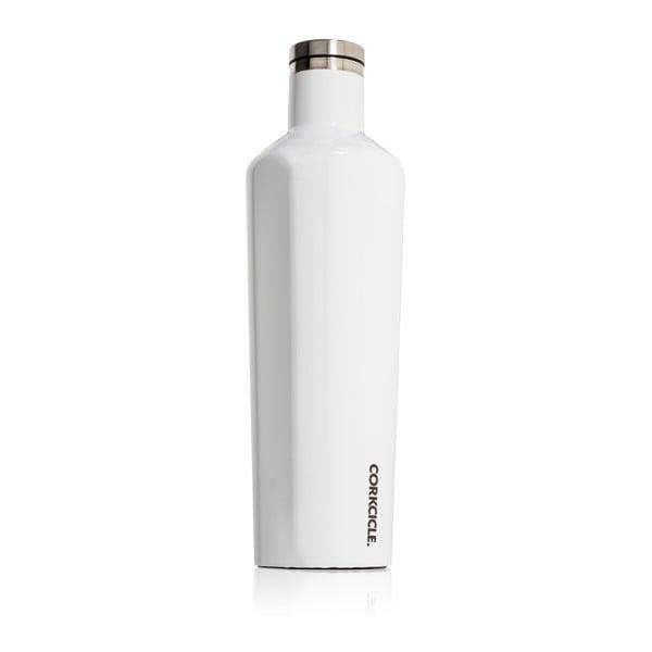 Biela termofľaša Corkcicle Canteen, 740ml
