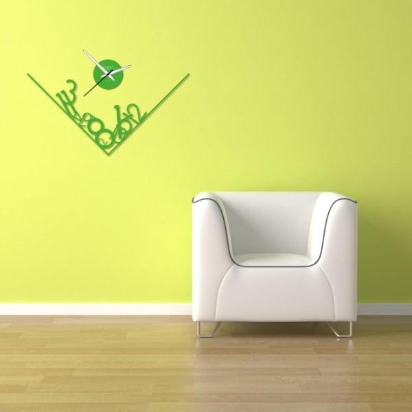 Nástenné hodiny Green Get Lost