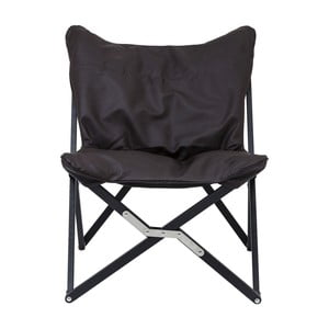 Čierna skladacia stolička Kare Design Klappstuhl Hill