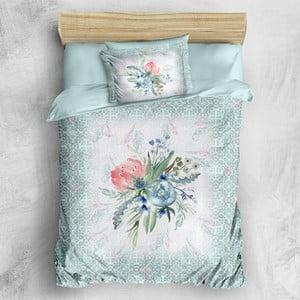 Sada posteľnej bielizne z bavlneného saténu Marie Lou Gren