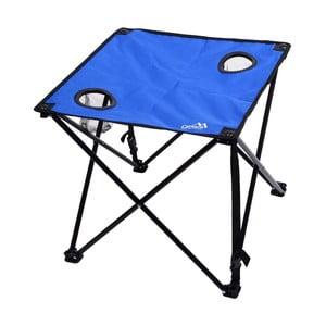 Modrý skladací kempingový stôl Cattara Lisboa