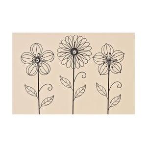 Sada 3 záhradných dekorácií Garden Flower
