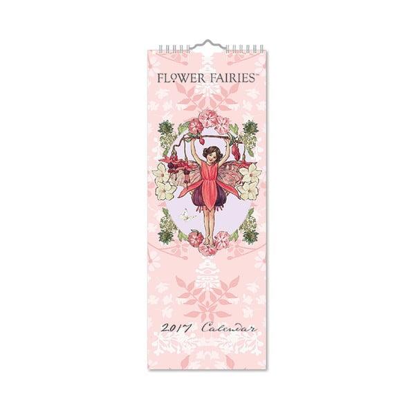 Úzký kalendár Portico Designs Flower Fairies