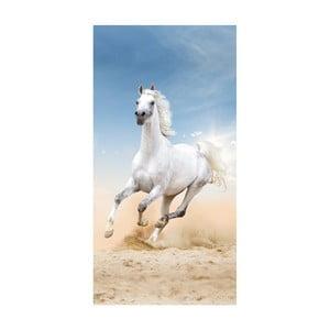 Plážová osuška s potlačou Good Morning Pablo, 75 x 150 cm