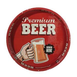 Okrúhly podnos Beer