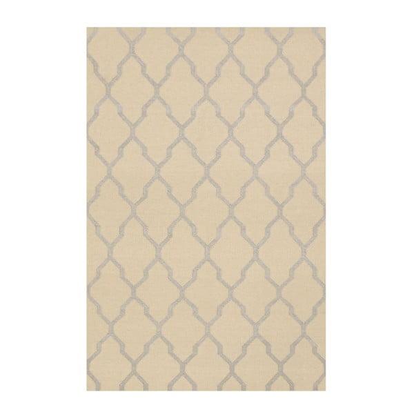 Vlnený koberec Kilim JP 11029 Beige, 120x180 cm