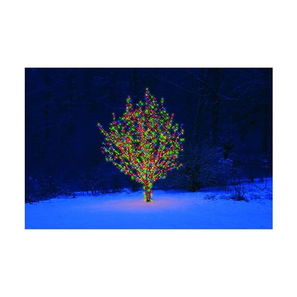 Vonkajšia svetelná predlžovacia LED reťaz s farebnými diódami Best Season Start, 50 svetielok
